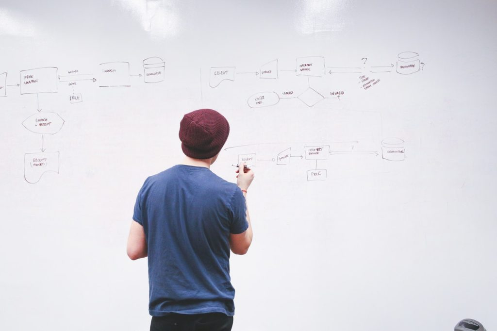 L'organisation changeante de la startup